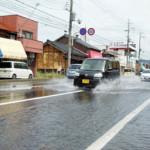 大雨で滋賀県長浜市等で70棟が床下浸水!通行止めや速報をチェック