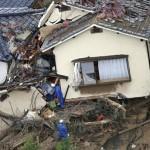 広島県の土砂災害速報!安否情報と被害状況は?自衛隊も派遣し救援