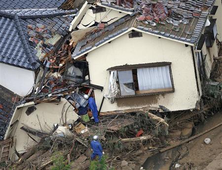 広島県の土砂崩れ速報!安否情報と被害状況は?自衛隊も派遣し救援