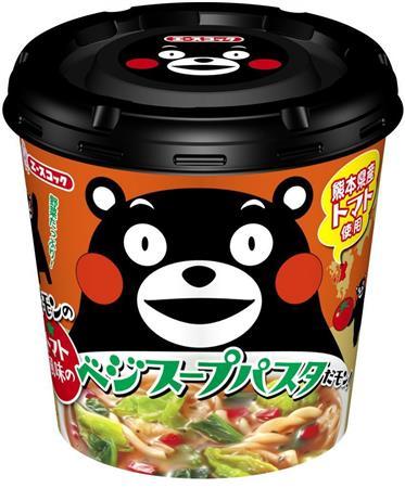 熊本県産くまモンのスープパスタはうまいのか?ww